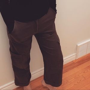 H&M green cargo pants